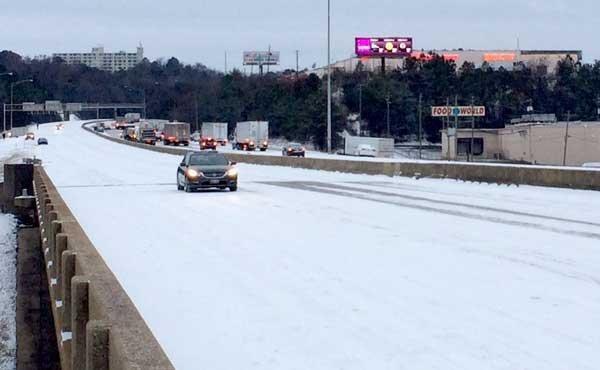 Winter Storm 2014 I-65
