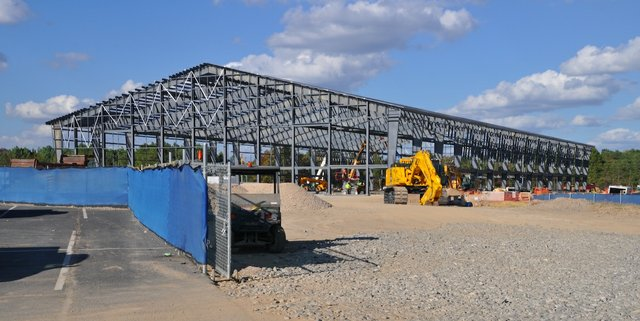 Hoover sports complex construction 10-17-16