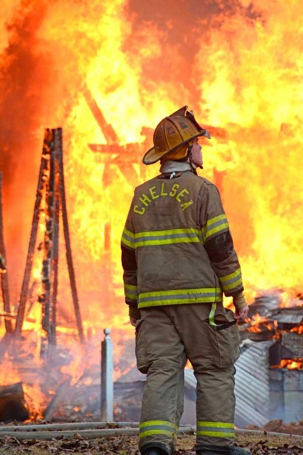 Chelsea Fire training 3