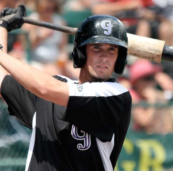 Dahl Signed with Rockies MLB Organization