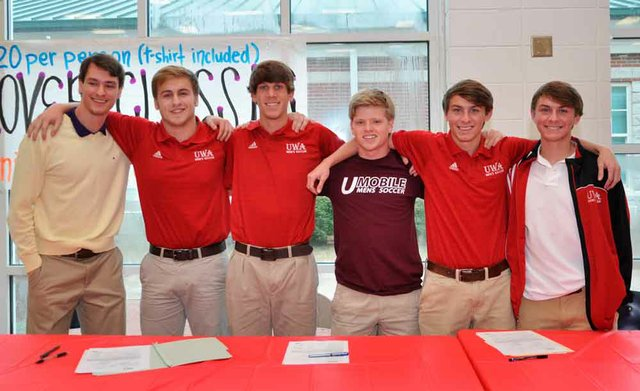 Oak Mountain Signing Day 2014