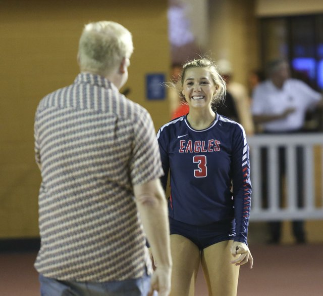Oak Mountain Volleyball QuarterFinals 2016