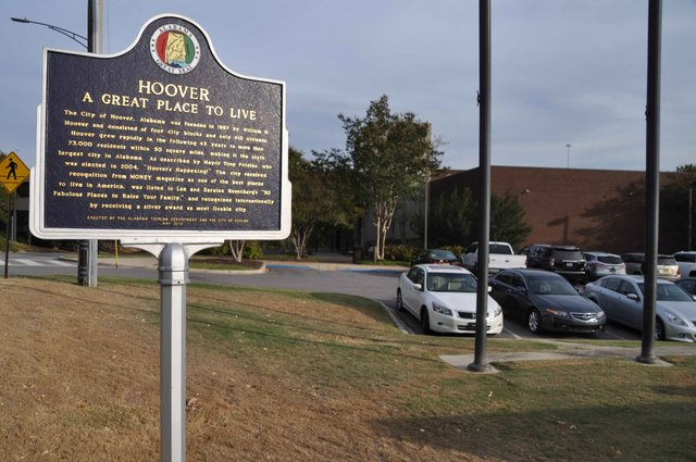 Hoover great place to live 2016