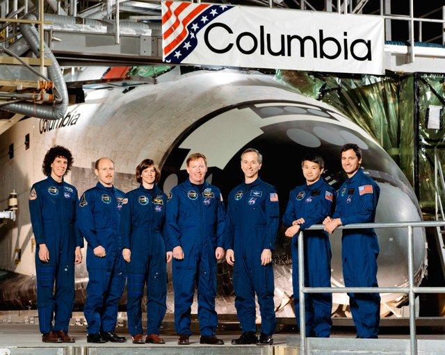 Larry DeLucas Columbia Crew