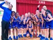 Chelsea Middle School girls basketball team 2014 Southern League Girls Conference Champion