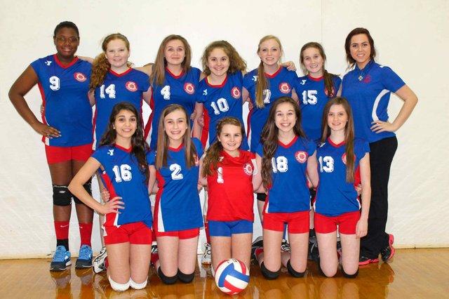 Y Club Challenge U13 team Greystone Volleyball
