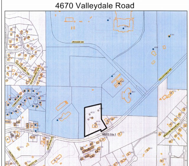 4670 Valleydale Road map