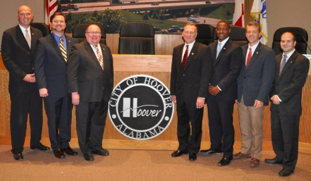 Hoover City Council Nov 2016