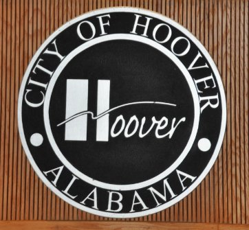 City of Hoover logo - council chambers