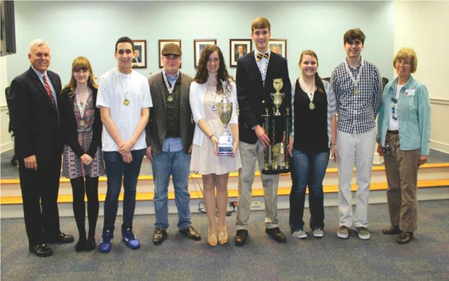 Strong showing for OMHS at Shelby Scholars' Bowl competition 1
