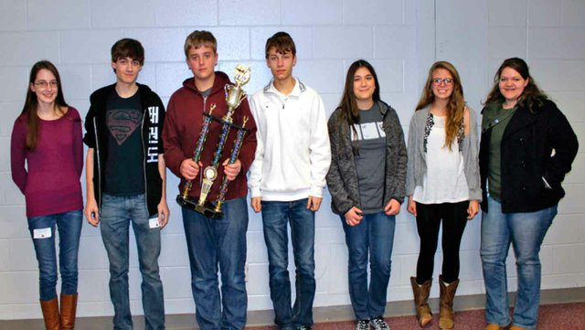 Strong showing for OMHS at Shelby Scholars' Bowl competition 2
