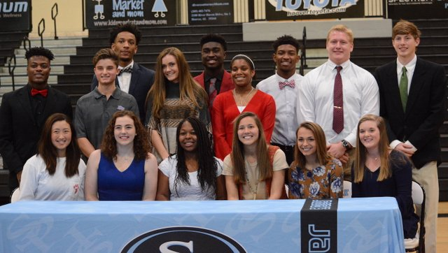 Spain Park 2017 National Signing Day
