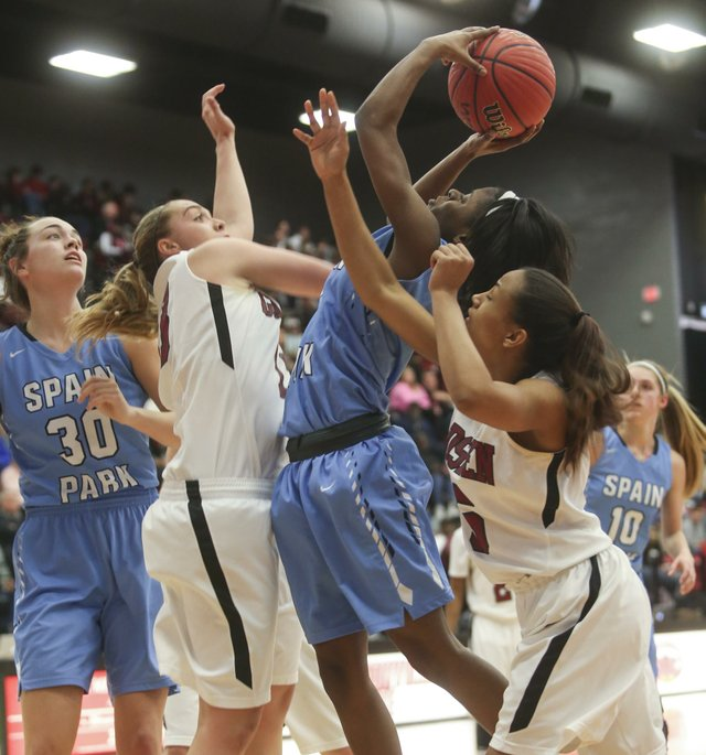 SPHS girls basketball VS Gadsden City 2017