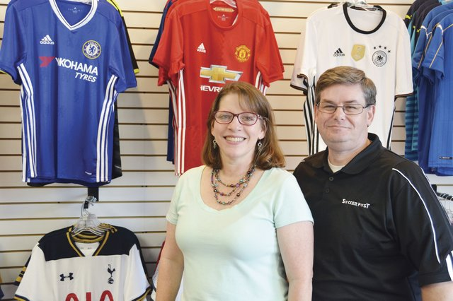 d0521a0541d Chelsea couple opens soccer equipment shop on Valleydale Road ...