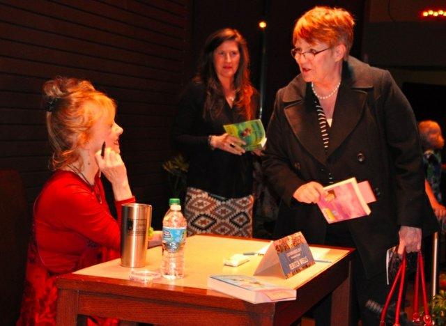 Rebecca Wells autographs 2-24-17
