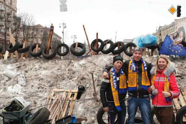 Amid the Kiev Protests