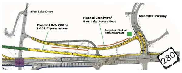 Flyovers part of long-range plan for 280, but funding them isn't 2