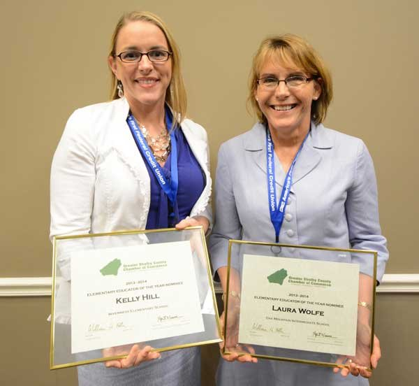 Chamber names Students, Educators of the Year Elementary