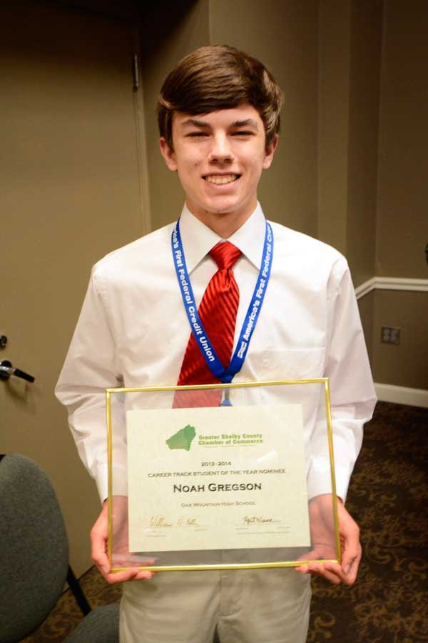 Chamber track student of the year