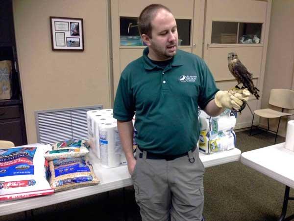 Alabama Wildlife bird shower