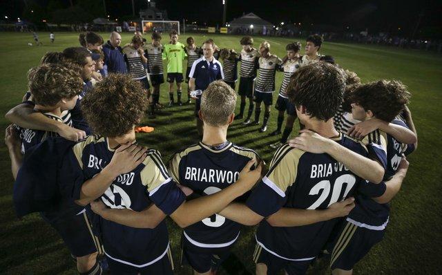 Briarwood Boys Soccer State Championship 2017