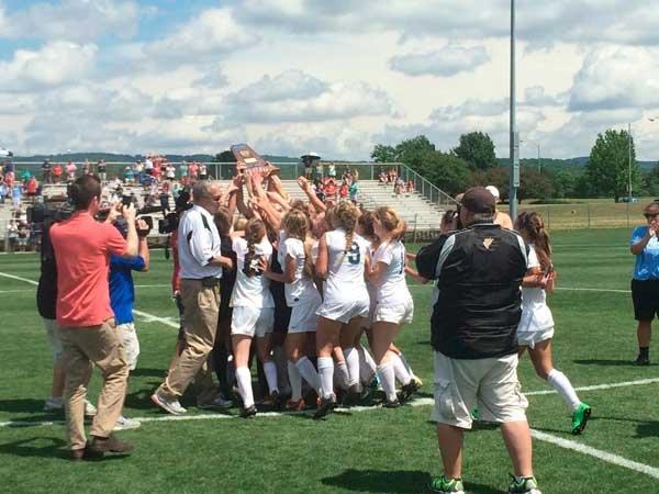 OMHS girls soccer championship