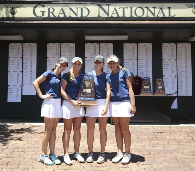 Spain park girls golf 2017