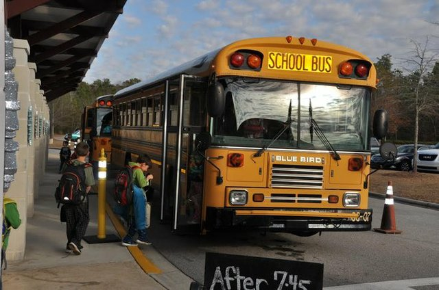 Hoover school bus 2016