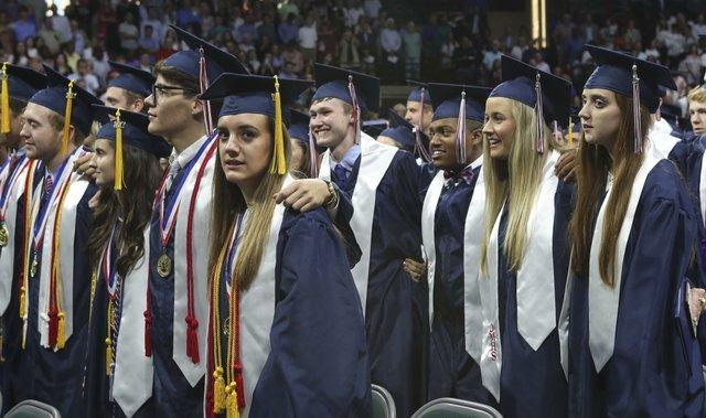 Oak Mountain Graduation 2017