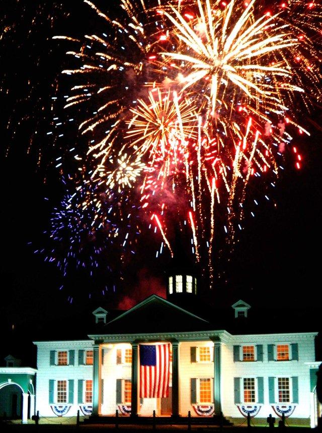 0614 American Village Fireworks