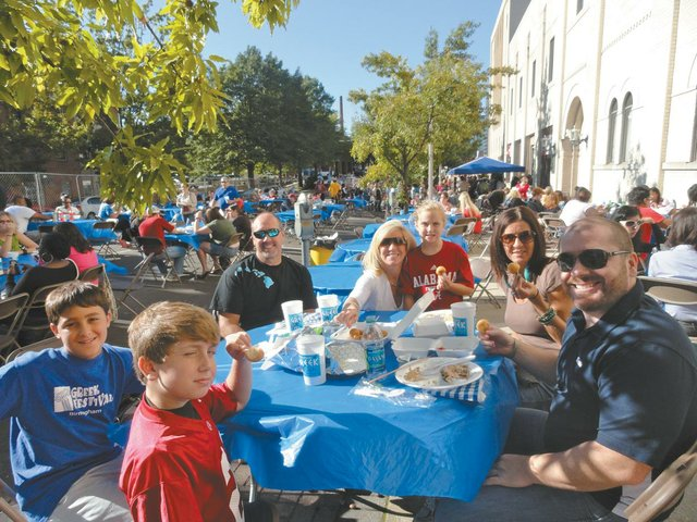 0912 Greek Festival crowd