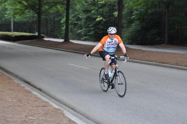 Stadium Trace cyclist