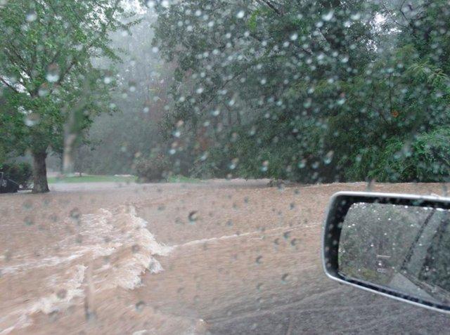 Monte D'Oro flooding 7-26-17