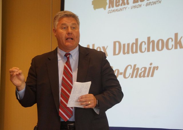 Greater Shelby Chamber of Commerce breakfast