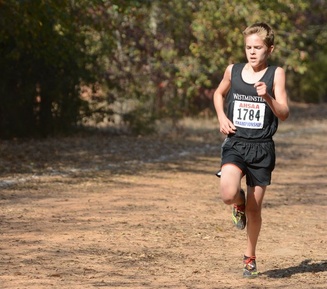 Westminster School at Oak Mountain Cross Country