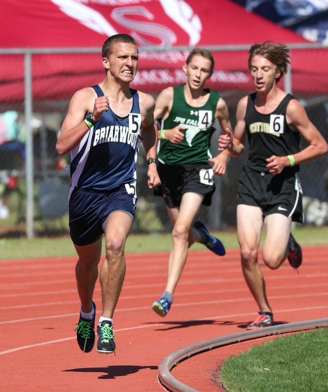 Briarwood Christian track and field