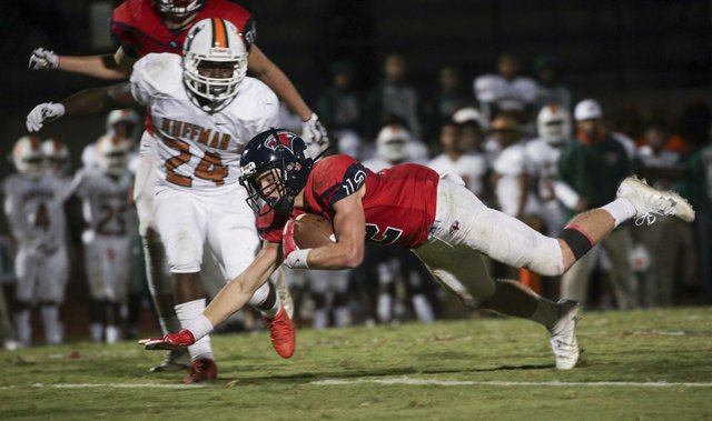 Oak Mountain VS Huffman Football 2017