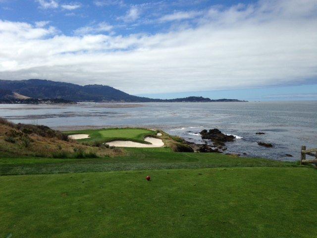 Hole No. 7 at Pebble Beach Golf Club