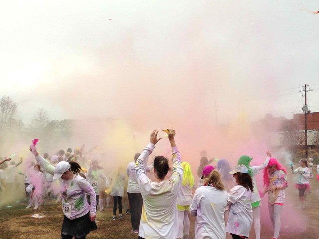 Blue White Color Dash 2014