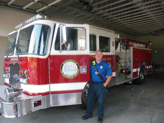 Bluff Park fire engine