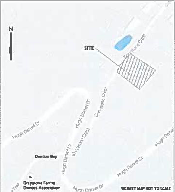 Greystone Crest cell tower site map.png