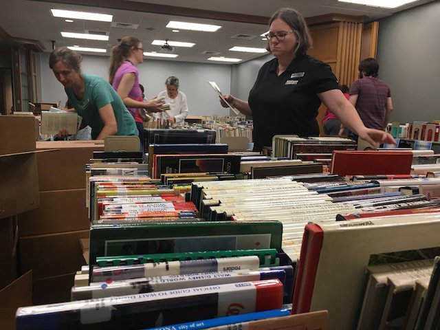 Hoover library fall book sale.jpg