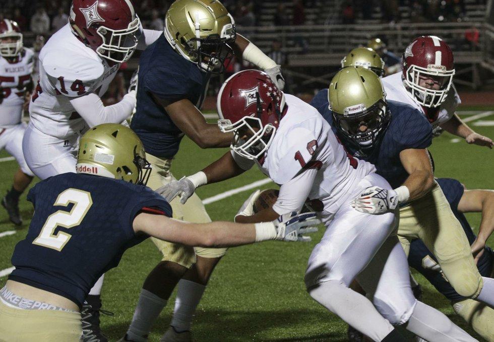 Briarwood VS Shelby County Football 2017
