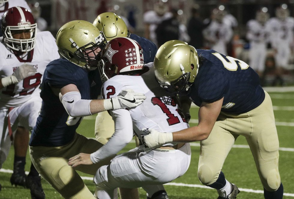 Briarwood VS Shelby County Football 2017
