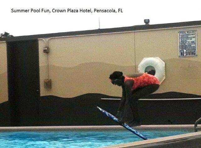 Summer Pool Fun, Pensacola, FL