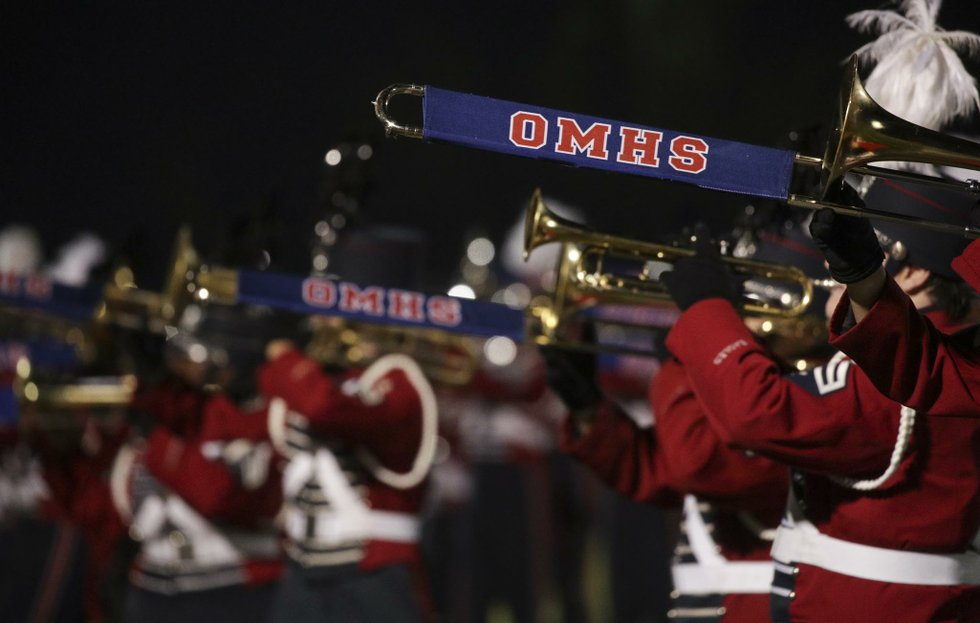 OMHS VS Hazel Green Football 2017