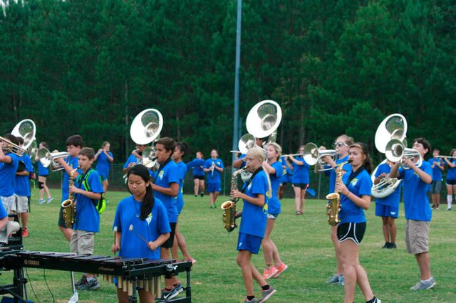 Chelsea Marching Band