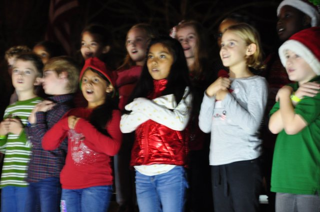 Hoover Christmas tree lighting 2017-14