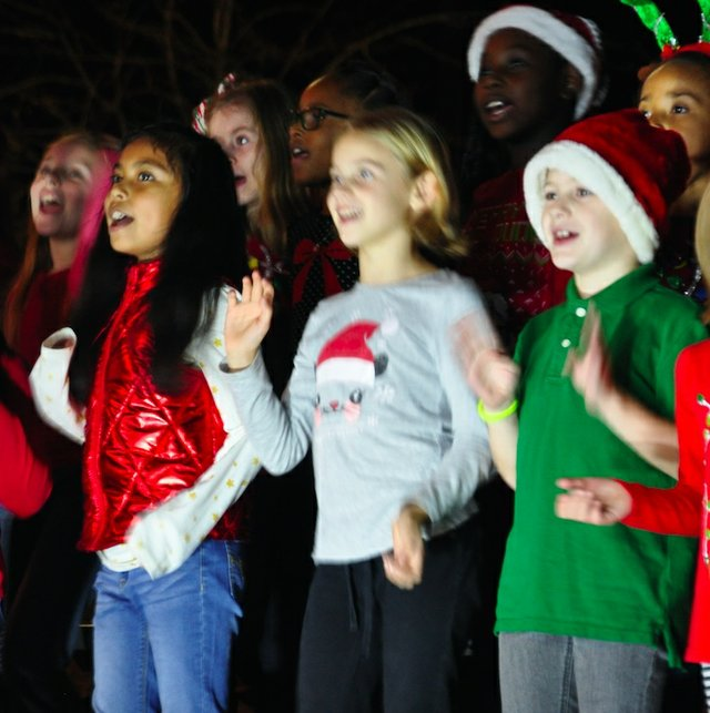 Hoover Christmas tree lighting 2017-15