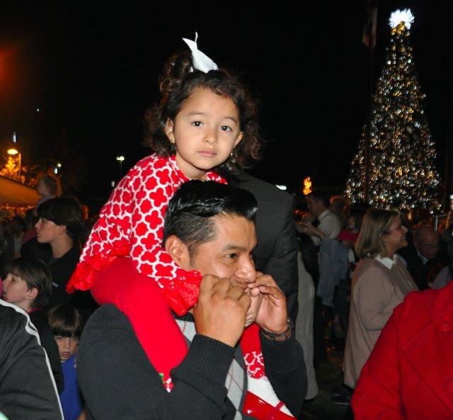 Hoover Christmas tree lighting 2017-22
